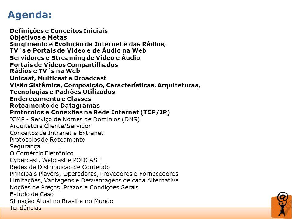 Agenda: Definições e Conceitos Iniciais Objetivos e Metas