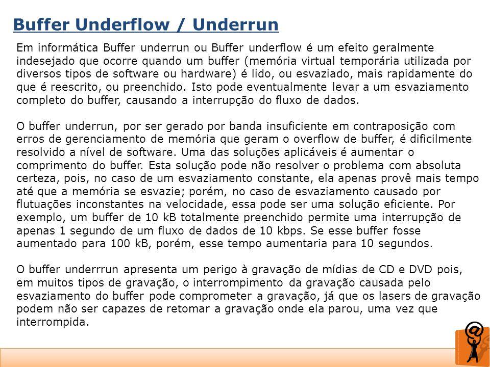 Buffer Underflow / Underrun