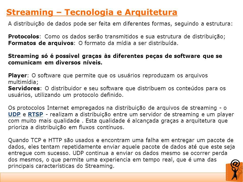 Streaming – Tecnologia e Arquitetura