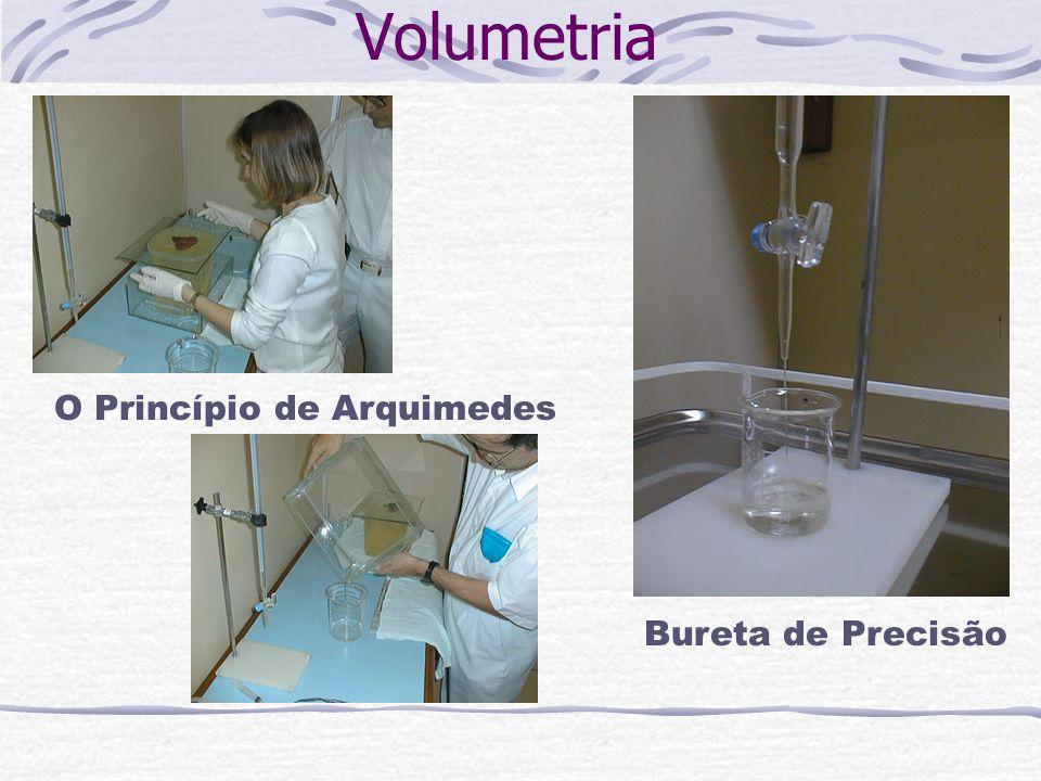 Volumetria O Princípio de Arquimedes Bureta de Precisão