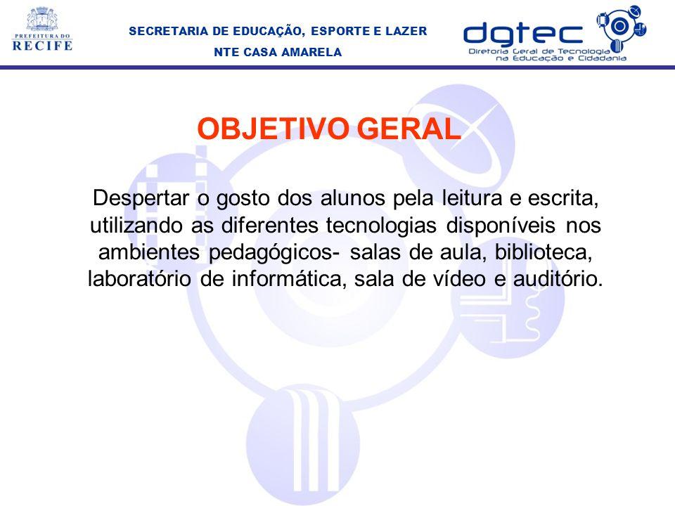 SECRETARIA DE EDUCAÇÃO, ESPORTE E LAZER