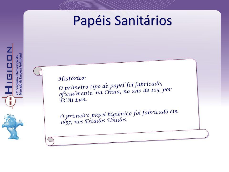 Papéis Sanitários Histórico: