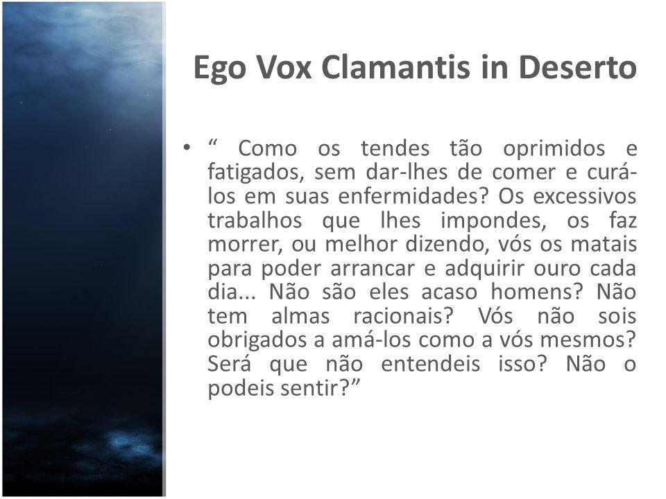 Ego Vox Clamantis in Deserto