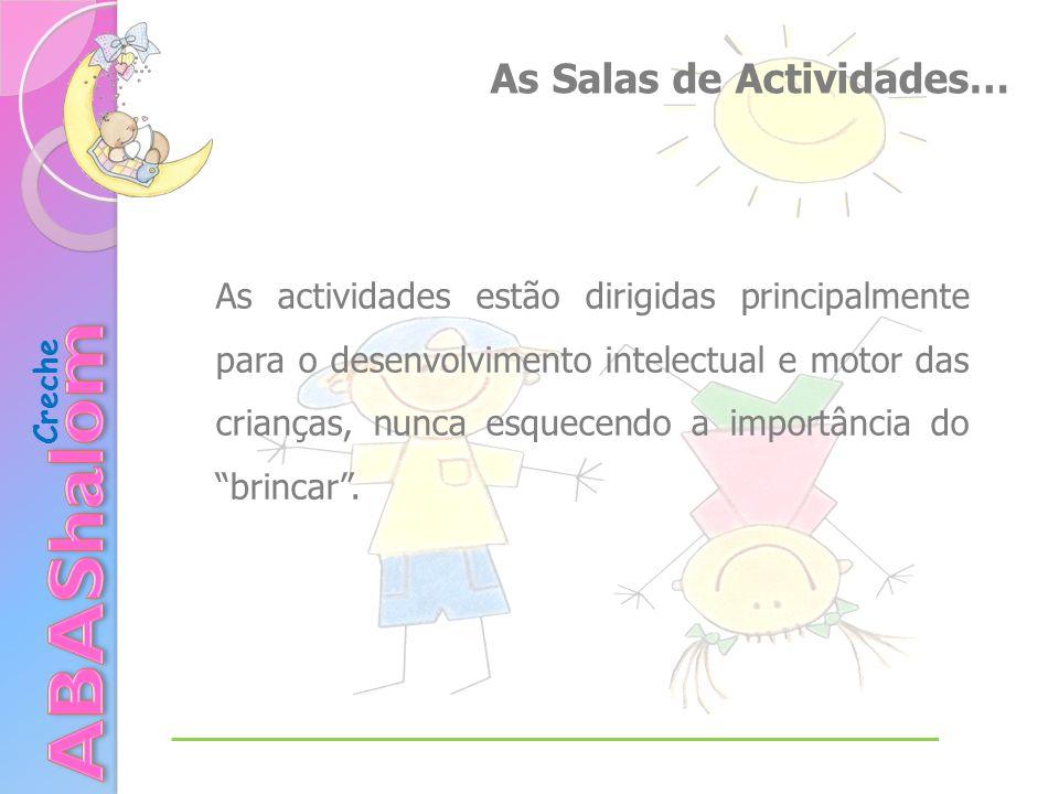 ABAShalom As Salas de Actividades…