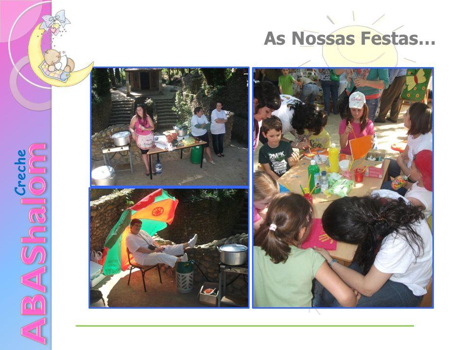 As Nossas Festas… Creche ABAShalom