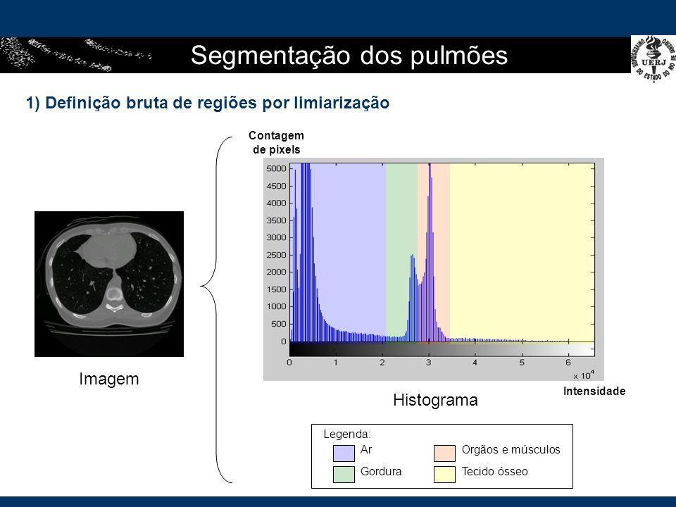 Segmentação dos pulmões