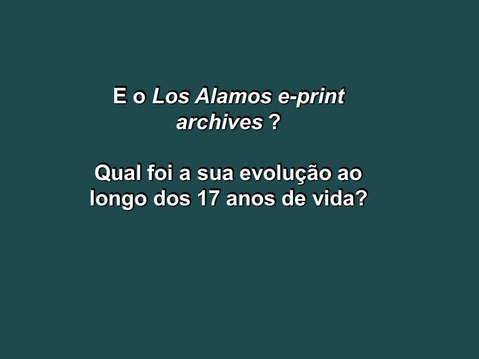 E o Los Alamos e-print archives
