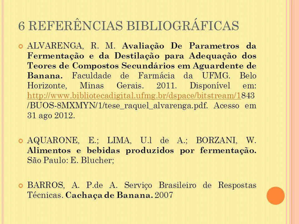 6 REFERÊNCIAS BIBLIOGRÁFICAS