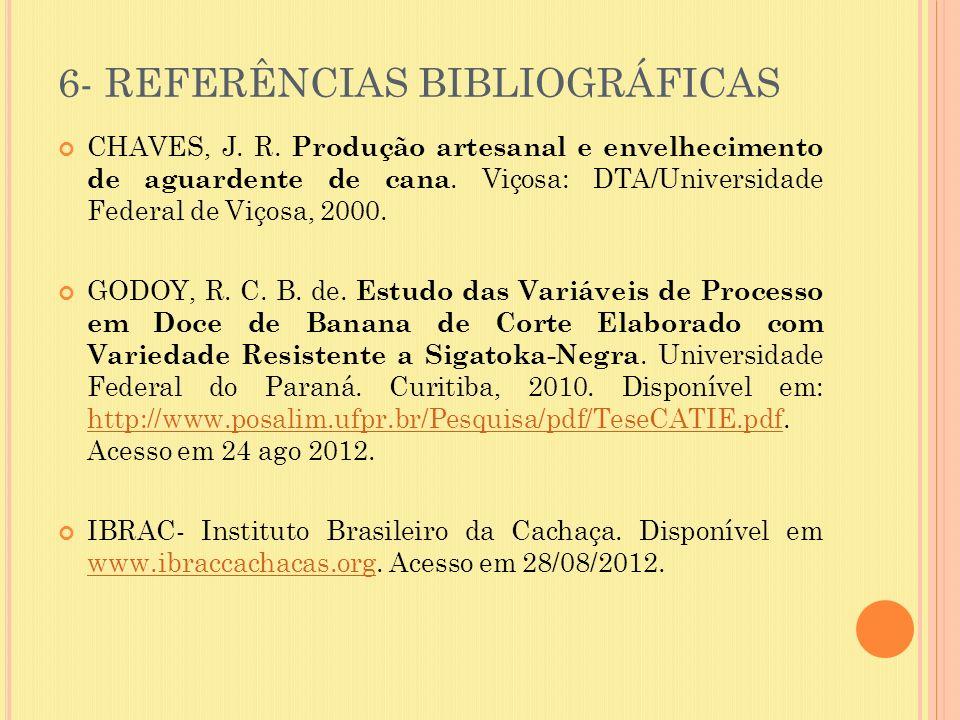 6- REFERÊNCIAS BIBLIOGRÁFICAS