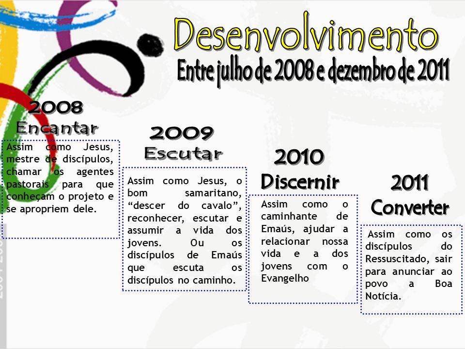 Entre julho de 2008 e dezembro de 2011