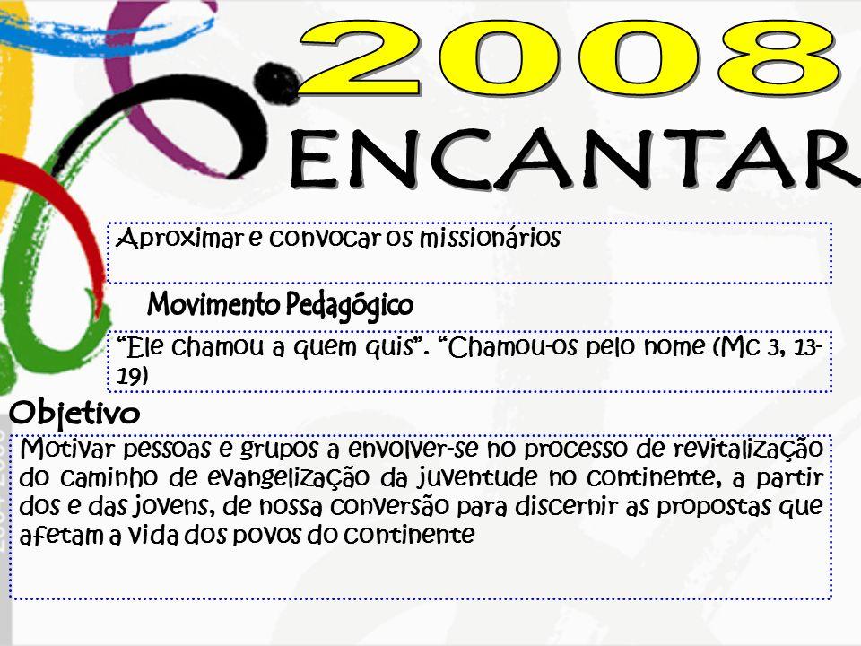 2008 ENCANTAR Movimento Pedagógico Objetivo