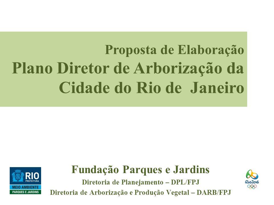 Plano Diretor de Arborização da Cidade do Rio de Janeiro
