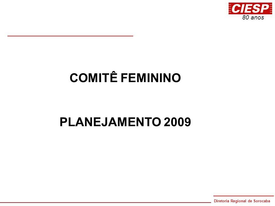 COMITÊ FEMININO PLANEJAMENTO 2009