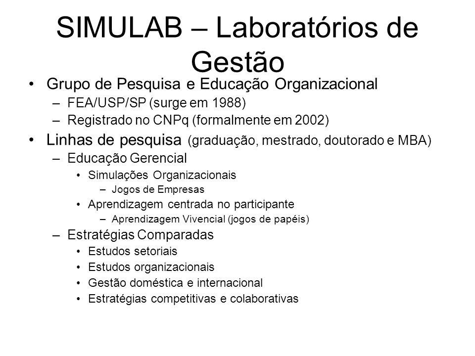 SIMULAB – Laboratórios de Gestão