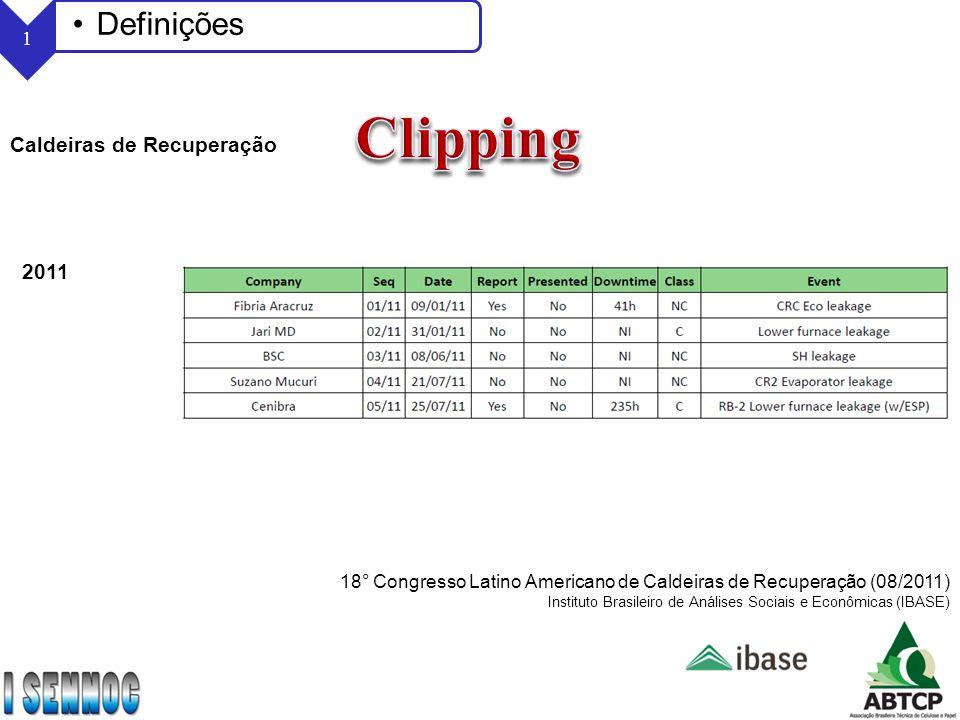 Clipping Definições Caldeiras de Recuperação 2011