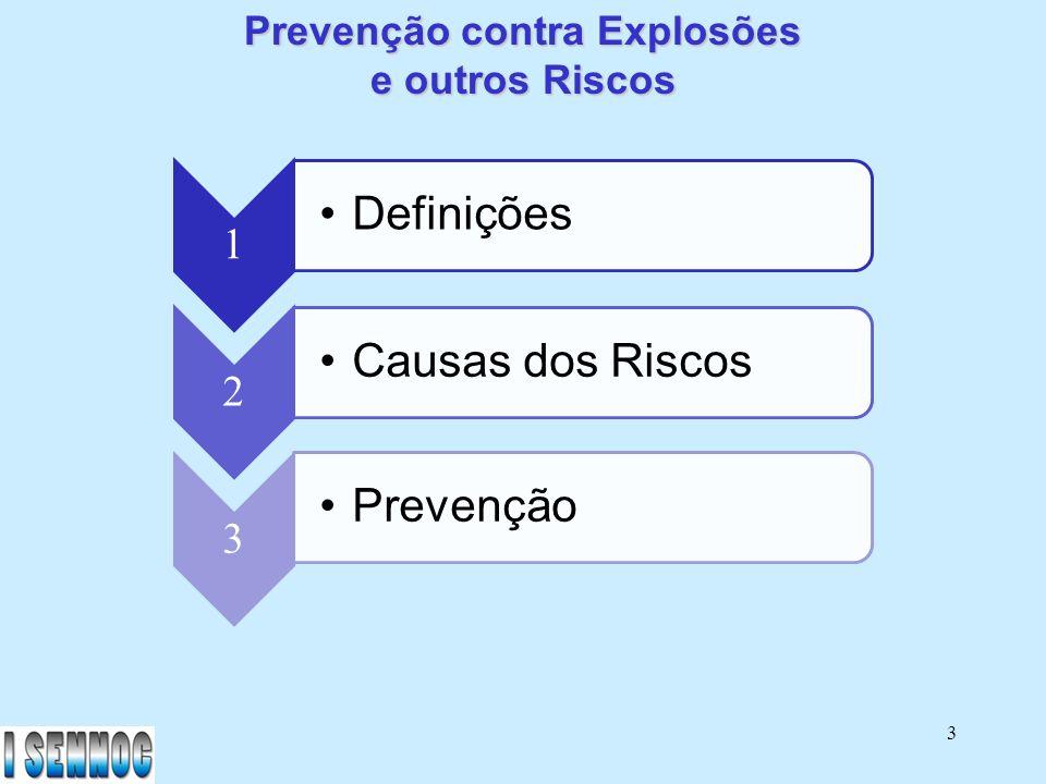 Prevenção contra Explosões