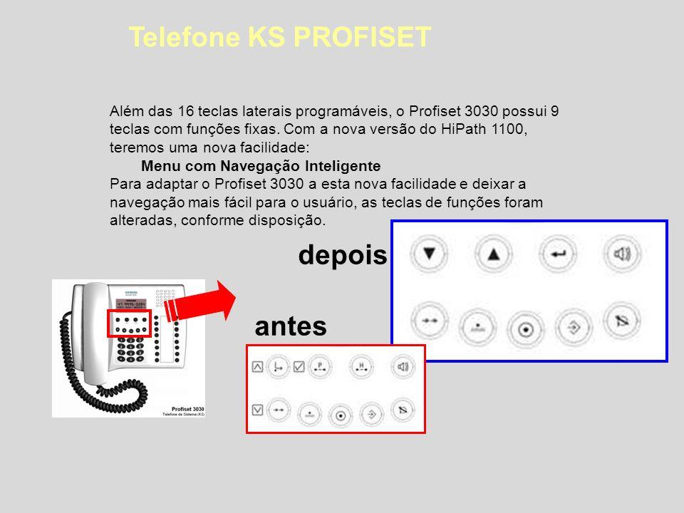 Telefone KS PROFISET depois antes