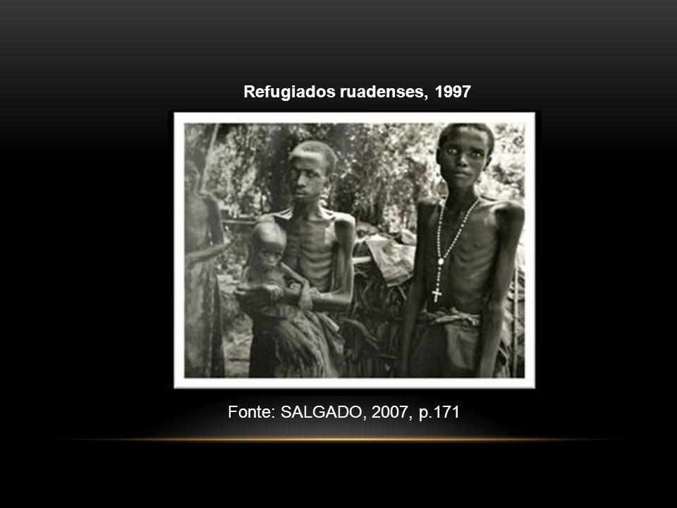 Refugiados ruadenses, 1997 Fonte: SALGADO, 2007, p.171