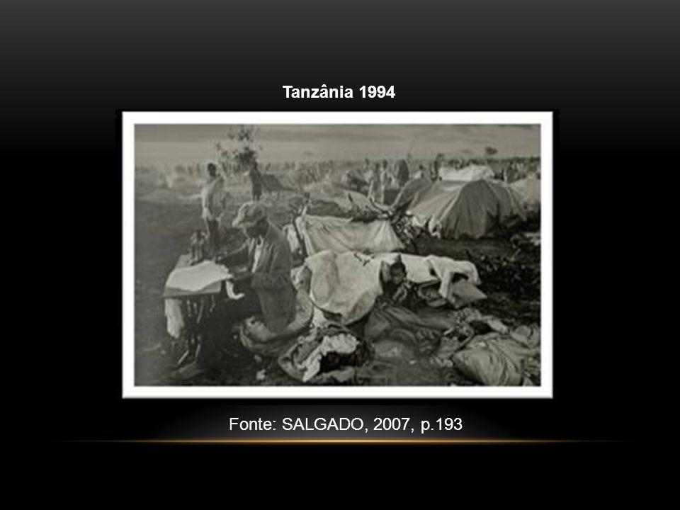 Tanzânia 1994 Fonte: SALGADO, 2007, p.193