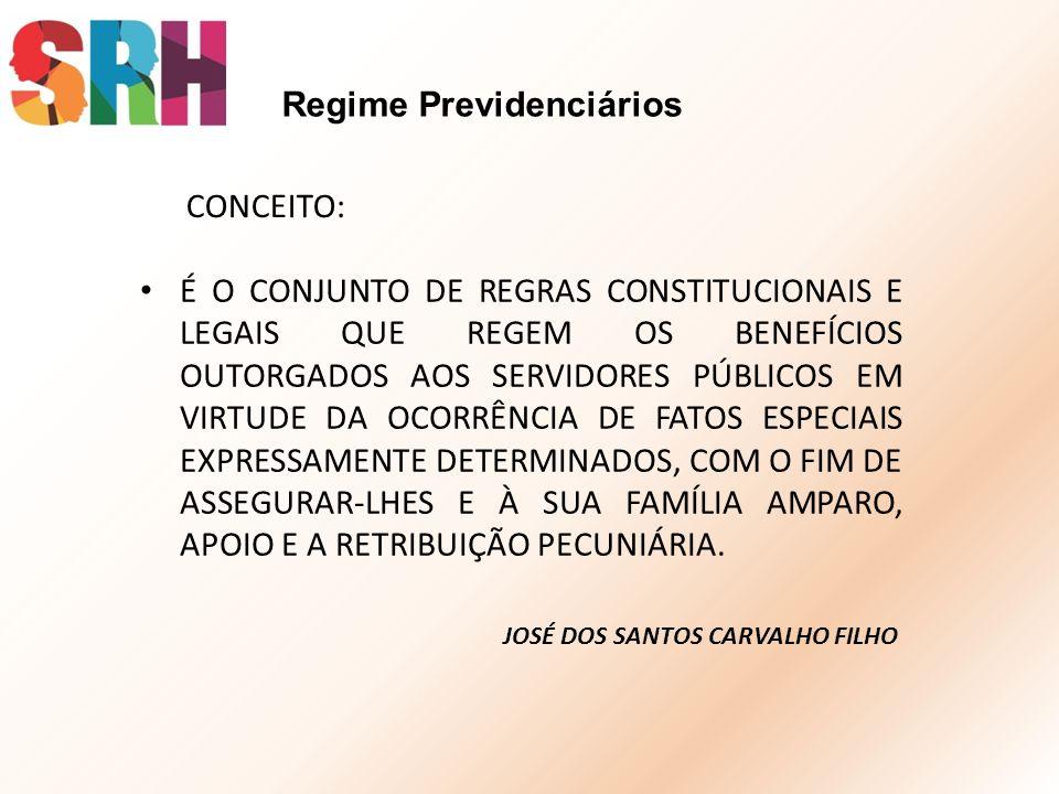Regime Previdenciários