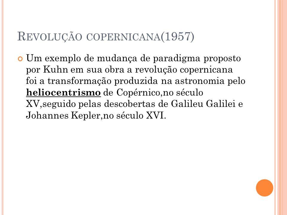 Revolução copernicana(1957)