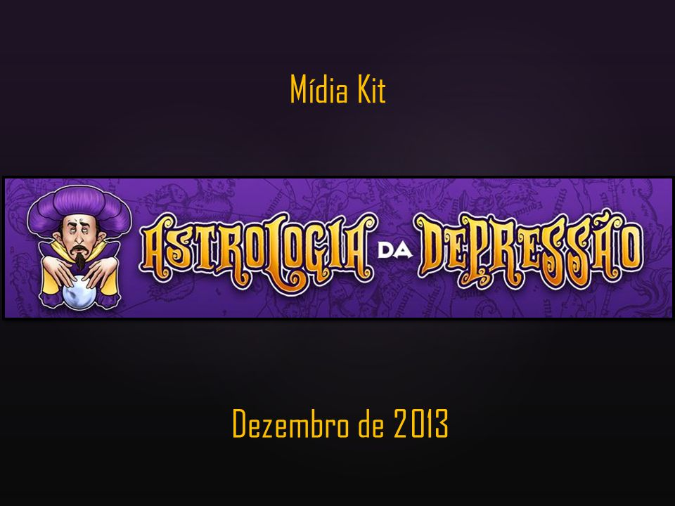 Mídia Kit Dezembro de 2013