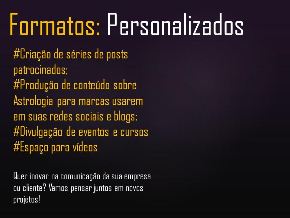 Formatos: Personalizados