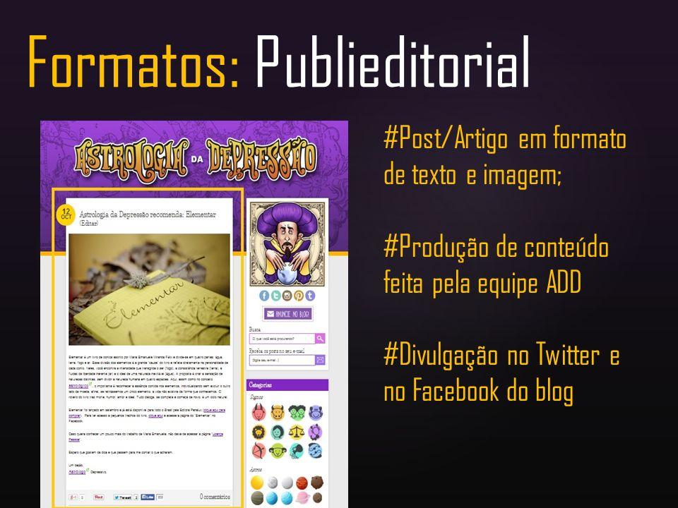 Formatos: Publieditorial