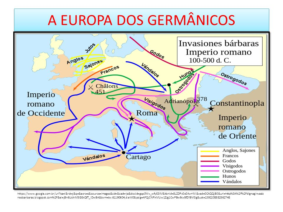 A EUROPA DOS GERMÂNICOS