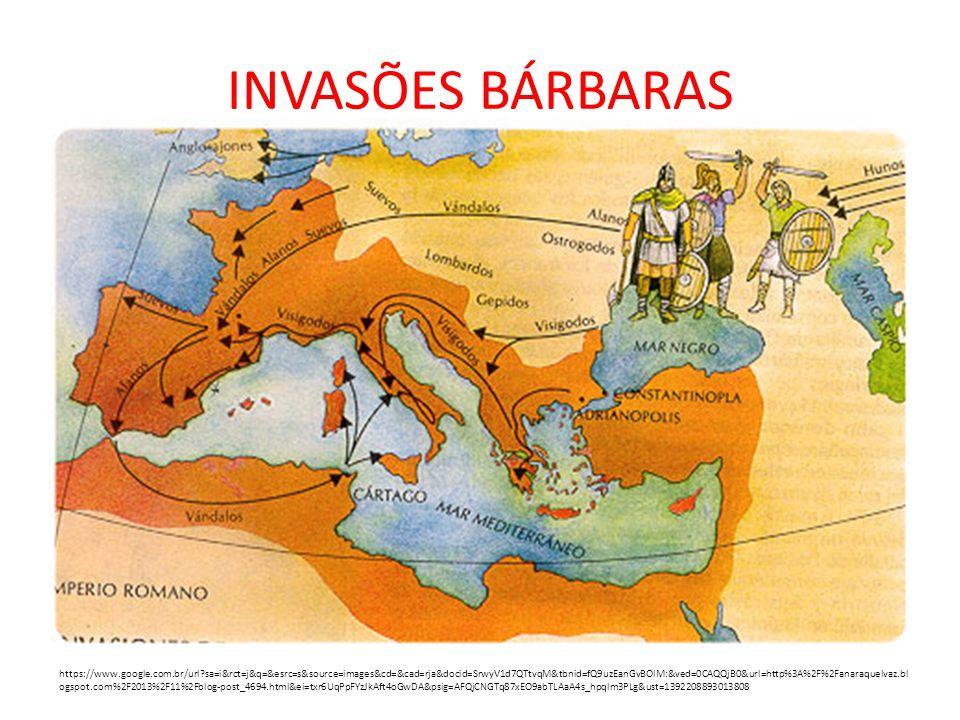 INVASÕES BÁRBARAS