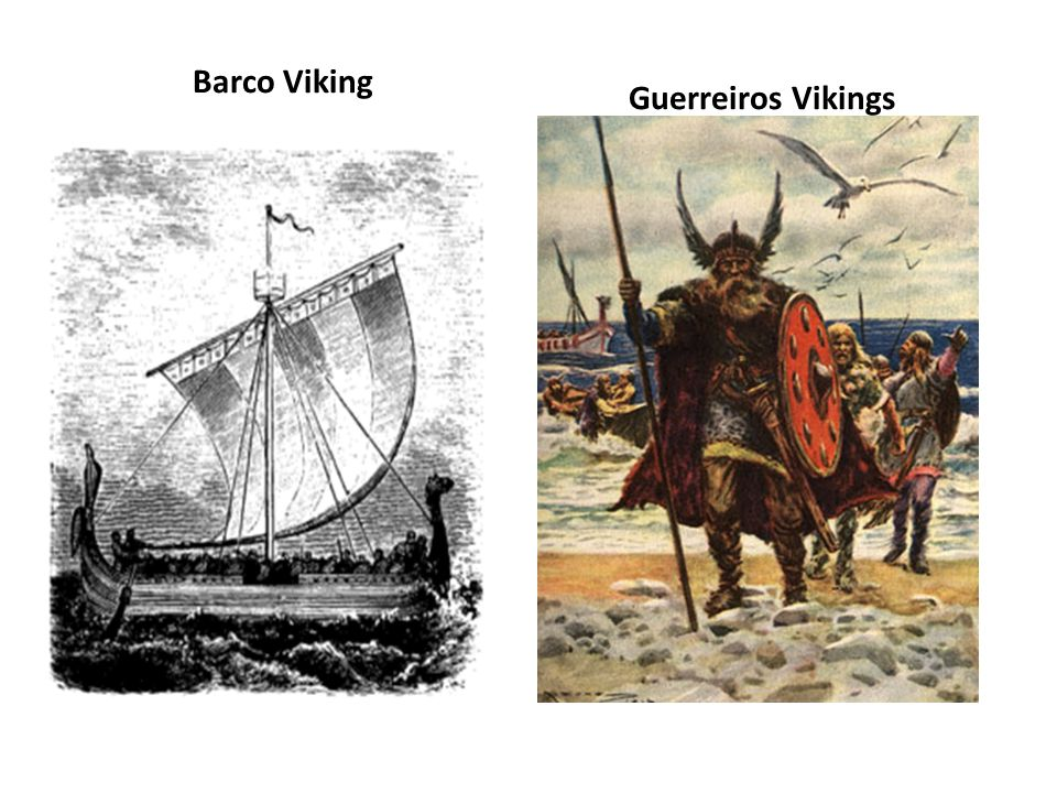 Barco Viking Guerreiros Vikings