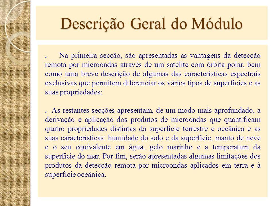 Descrição Geral do Módulo
