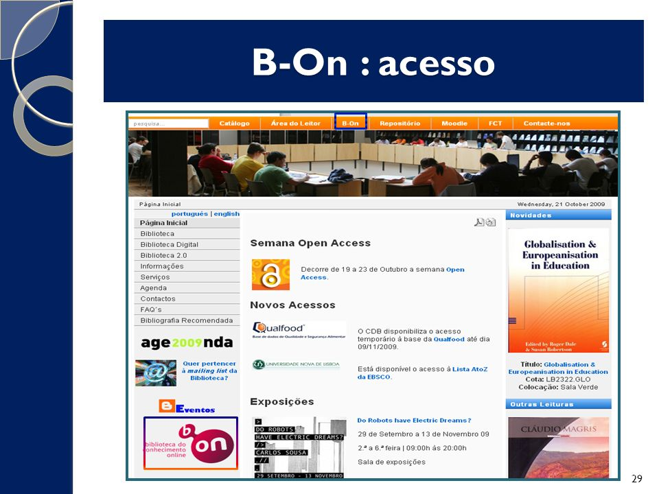 B-On : acesso