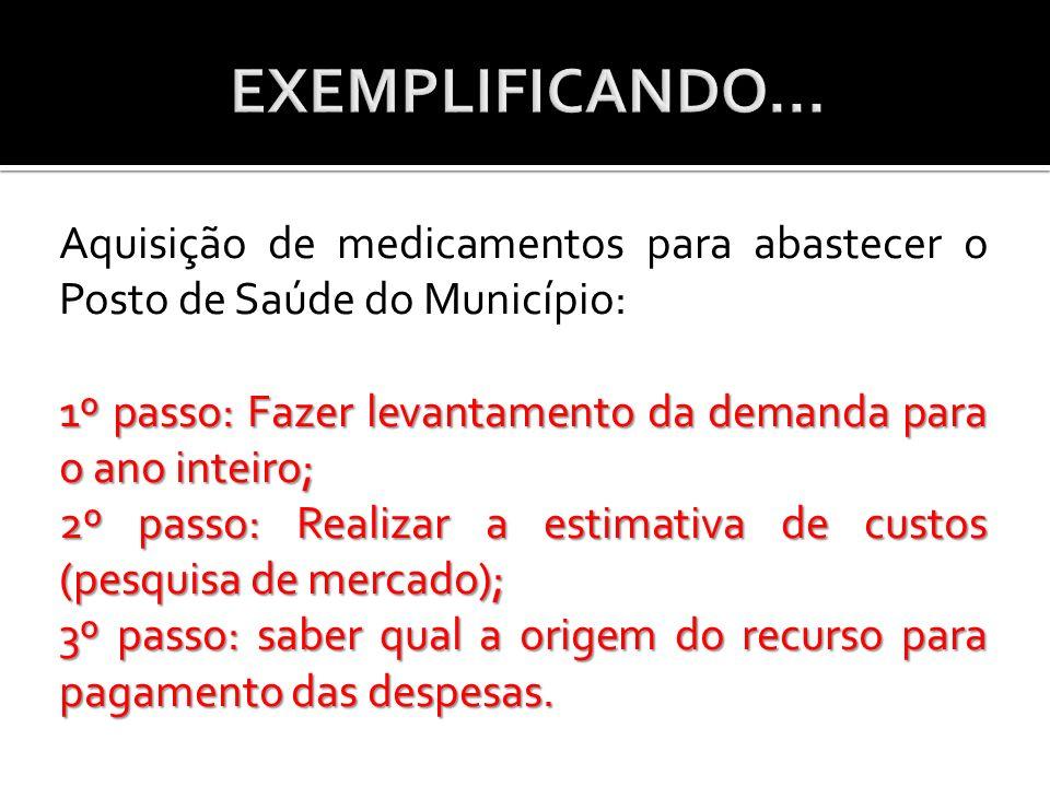 EXEMPLIFICANDO...