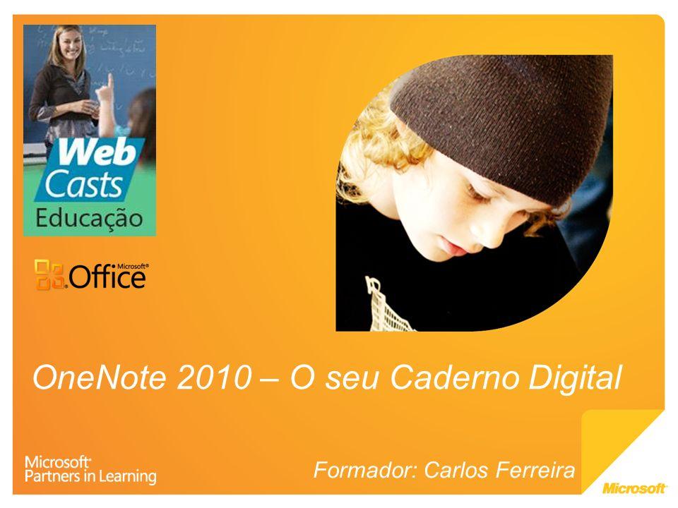 OneNote 2010 – O seu Caderno Digital