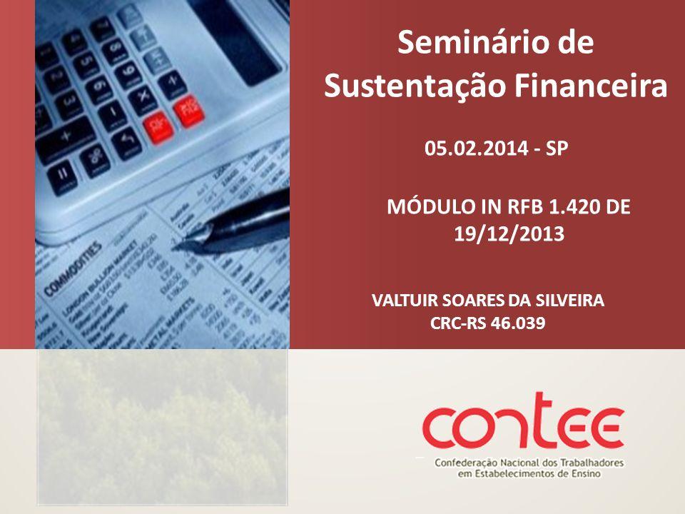 Seminário de Sustentação Financeira