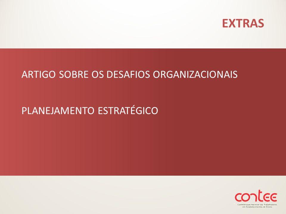 EXTRAS ARTIGO SOBRE OS DESAFIOS ORGANIZACIONAIS