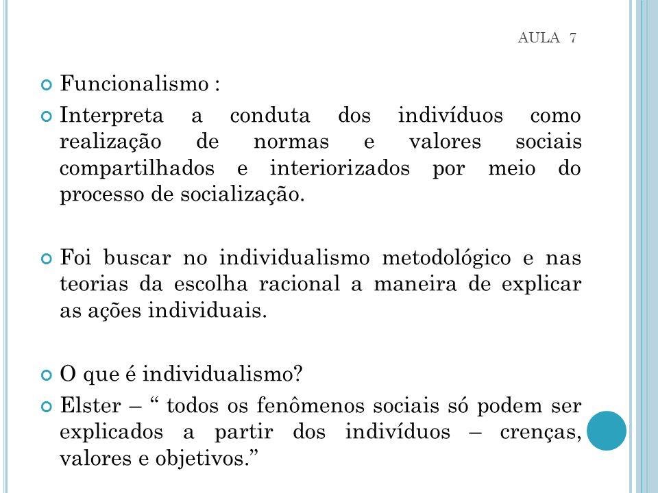 AULA 7 Funcionalismo :