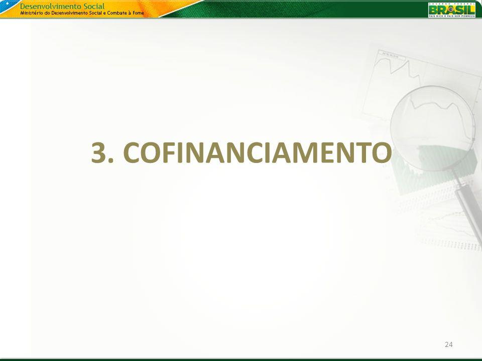 3. COFINANCIAMENTO 24 24