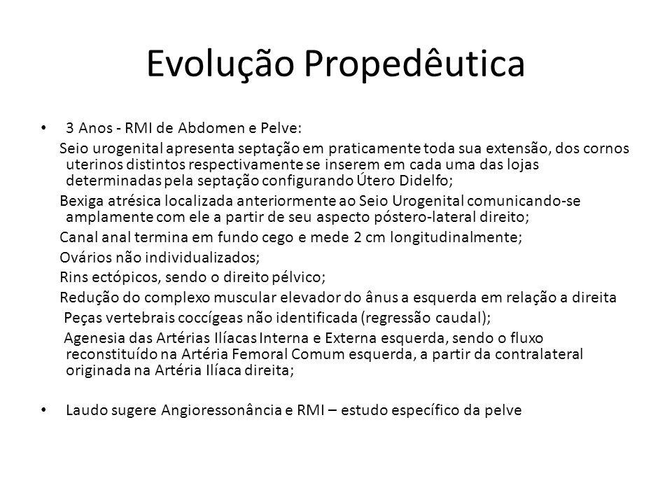 Evolução Propedêutica