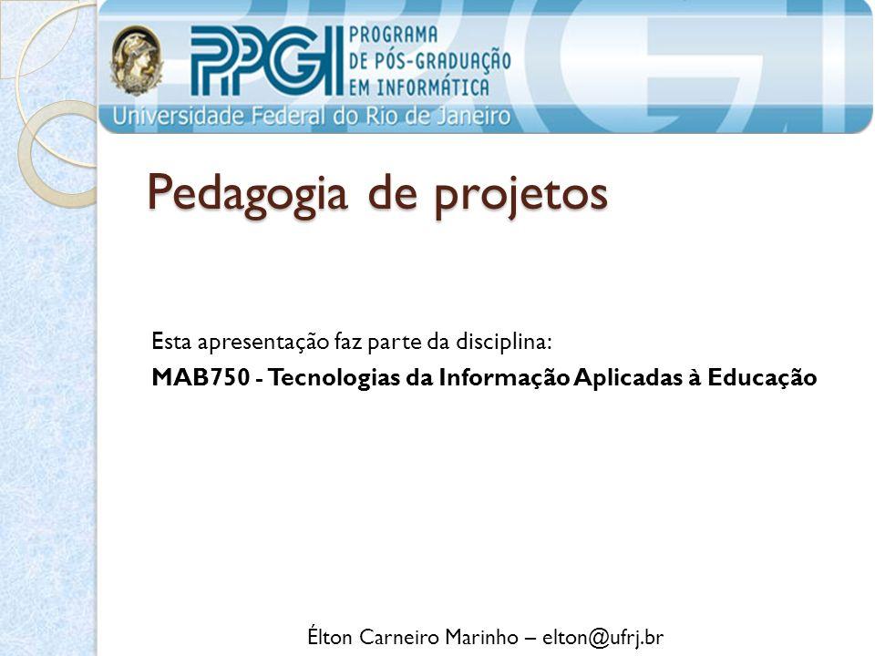 Élton Carneiro Marinho – elton@ufrj.br
