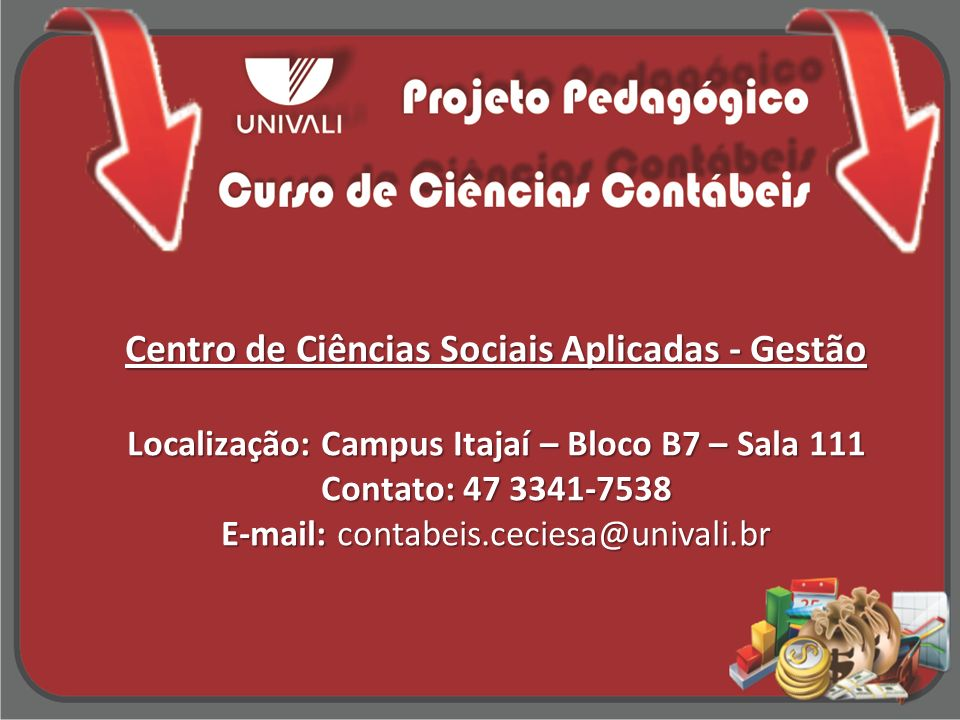 Centro de Ciências Sociais Aplicadas - Gestão