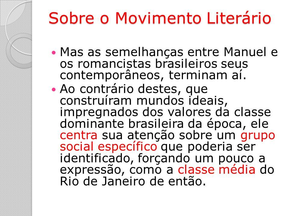 Sobre o Movimento Literário