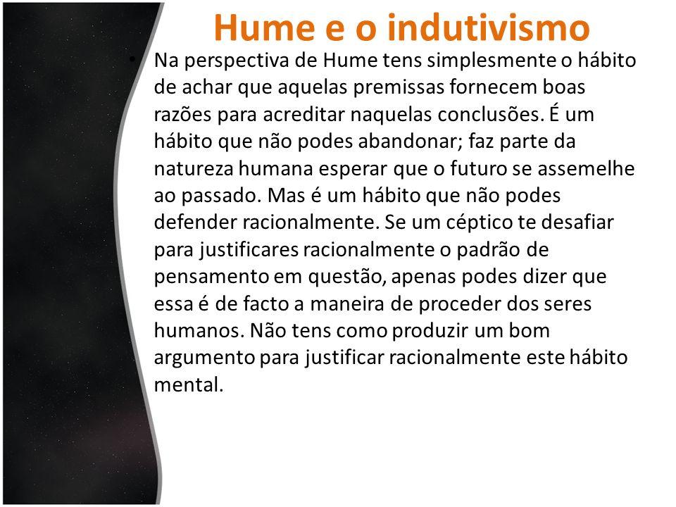Hume e o indutivismo