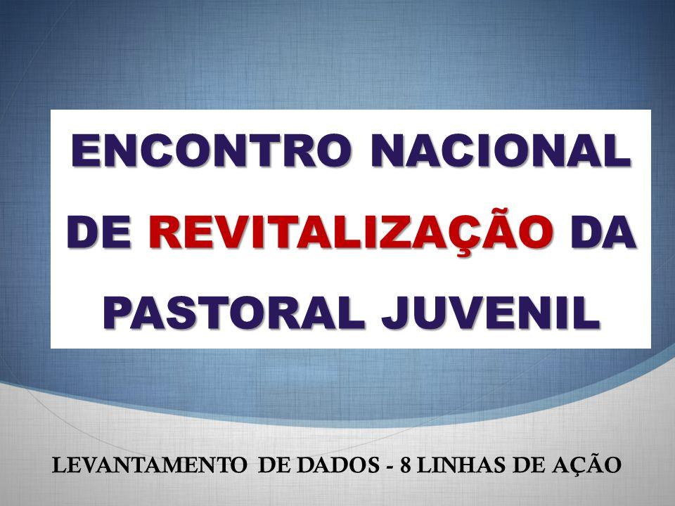 ENCONTRO NACIONAL DE REVITALIZAÇÃO DA PASTORAL JUVENIL