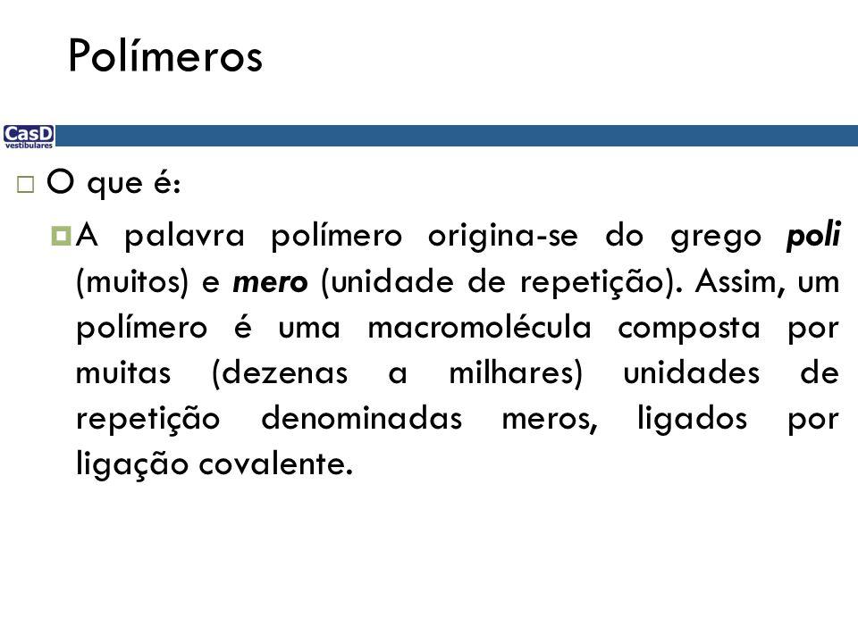 Polímeros O que é: