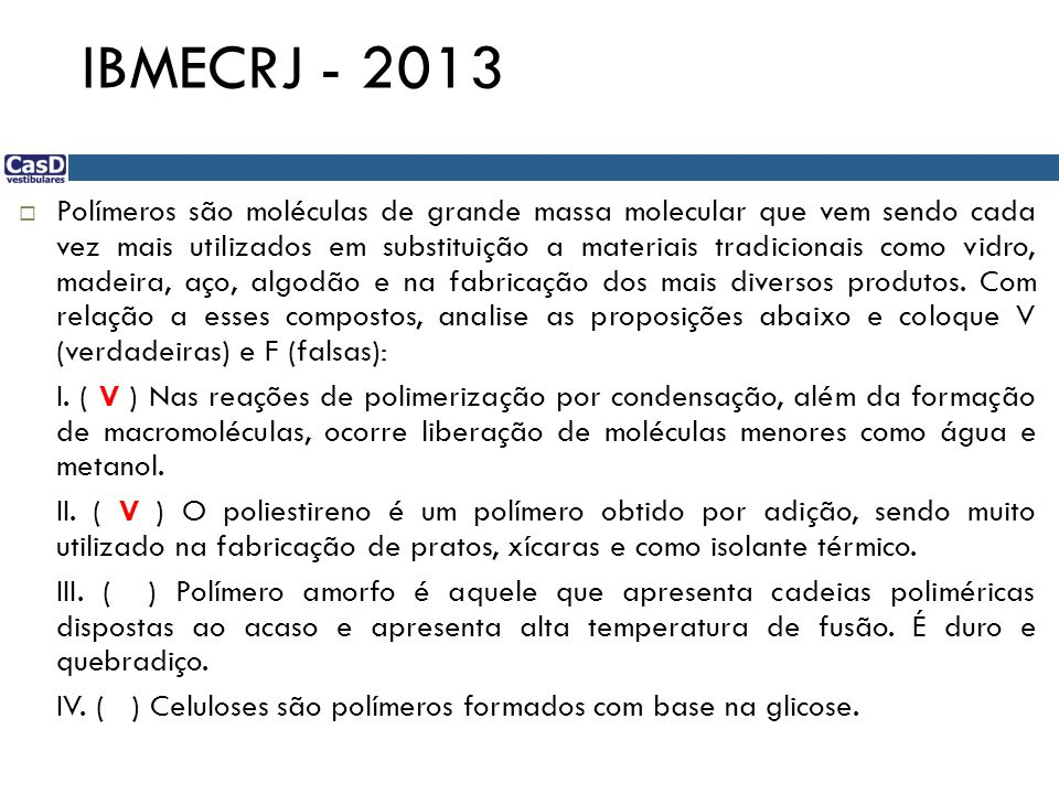 IBMECRJ - 2013