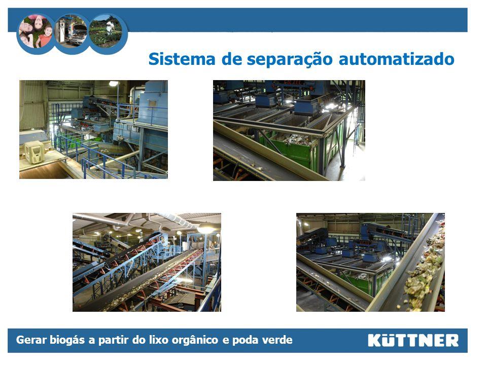 Sistema de separação automatizado