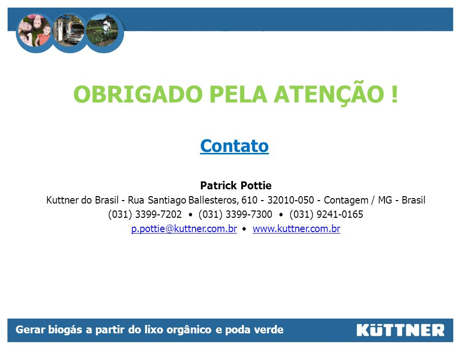 p.pottie@kuttner.com.br • www.kuttner.com.br