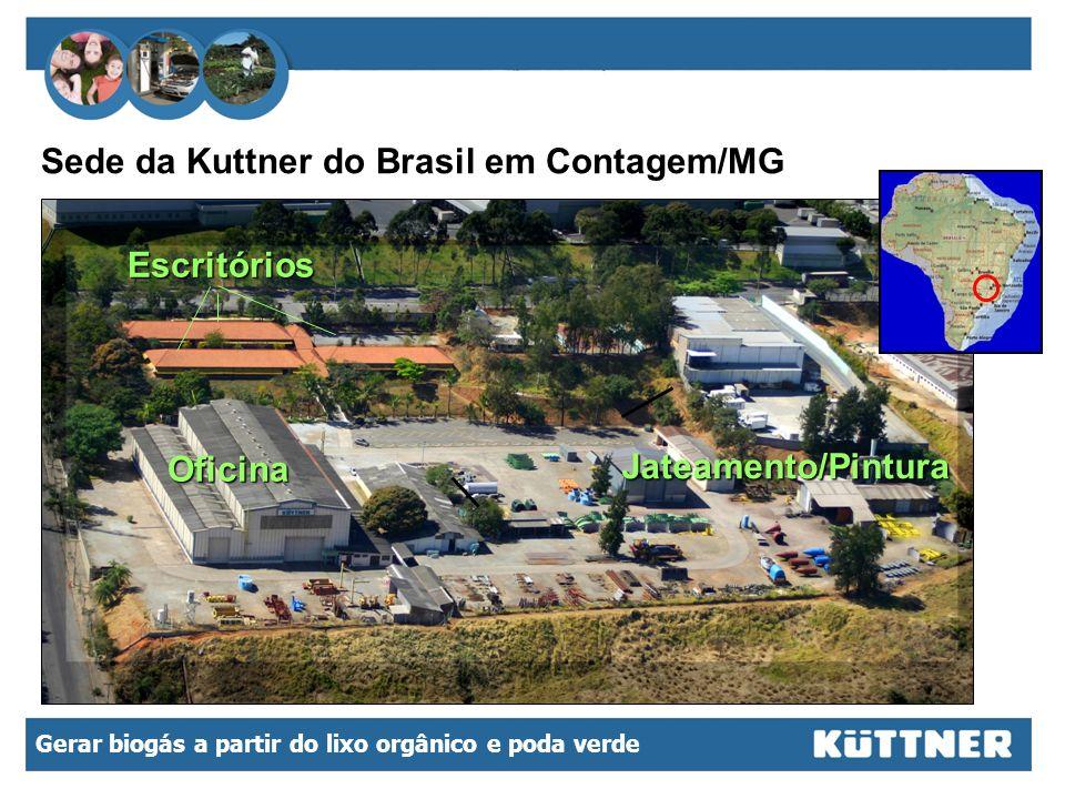Sede da Kuttner do Brasil em Contagem/MG